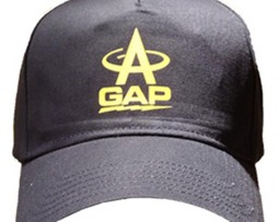 gap antenna hat black with yellow